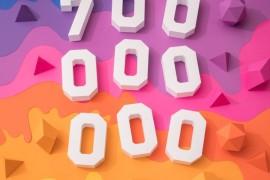 """شعب """"إنستجرام"""" يصل إلى 700 مليون"""