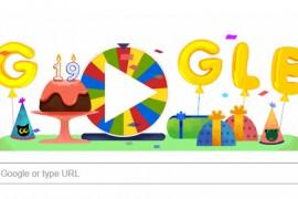 كيف احتفل محرك بحث جوجل بعيده الـ 19