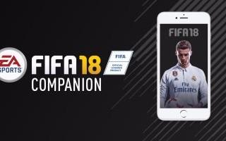 لعبة FIFA 18 Companion تصل أخيرا إلى الهواتف الذكية