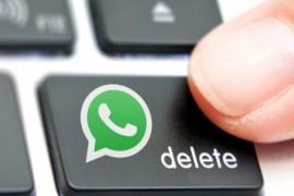 الآن.. واتس آب يتيح حذف الرسائل بعد إرسالها
