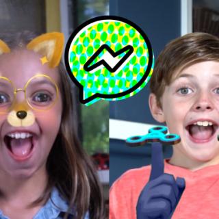 """نسخة جديدة للأطفال من تطبيق """"فيس بوك ماسنجر"""""""