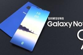 سامسونج تدعم هاتف جلاكسى نوت 9 بمستشعر بصمة إصبع داخل الشاشة