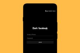 """فيس بوك يطلق ميزة """"Dark Mood"""" لتطبيق ماسنجر"""