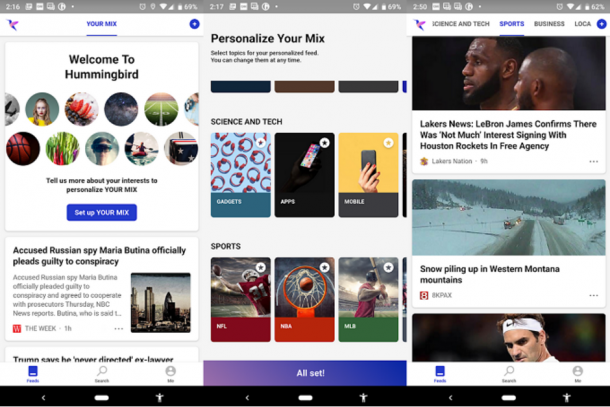 561202-Microsofts-new-Hummingbird-app-uses-AI-to-deliver-personalized-news